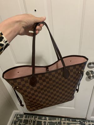 Louis Vuitton neverfull MM tote bag pink for Sale in Sacramento, CA