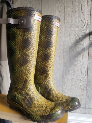 Hunter rain boots for Sale in Aurora, CO