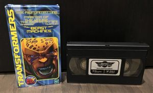 Transformers Beast Machines VHS Tape for Sale in Winter Garden, FL