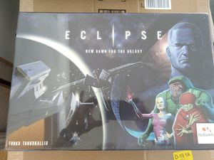 Eclipse board game & Ship Pack 1 for Sale in Belmont, CA