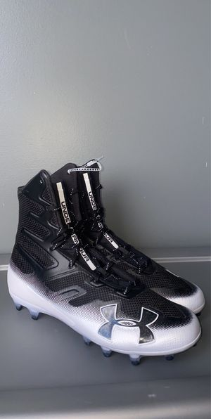 Brand New Black Under Armour Highlight Football Cleats for Sale in Stuarts Draft, VA