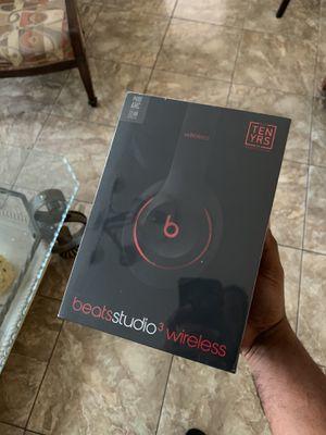 Beats Studio 3 Defiant Black/Red, Sealed Box for Sale in Miami, FL