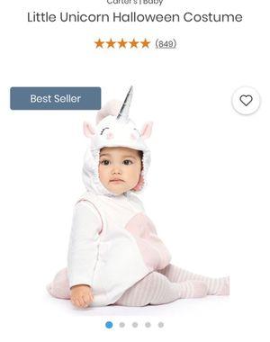 Carters unicorn costume for Sale in Danvers, MA