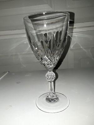 12 - Crystal wine glasses - new for Sale in El Mirage, AZ