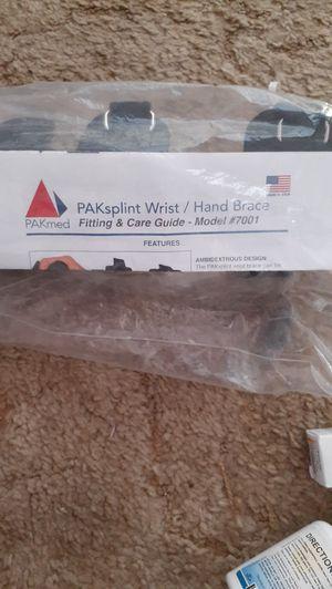 Pak splint wrist/hand brace for Sale in McIntosh, NM