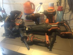 Ridgid power tools for Sale in Wilmerding, PA
