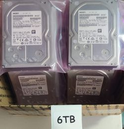 Hard Drives (500Gb-6Tb) & Ssd's (250Gb-500Gb) for Pc's, Laptops, Game Consoles, & Security Dvr's for Sale in Spring Hill,  FL
