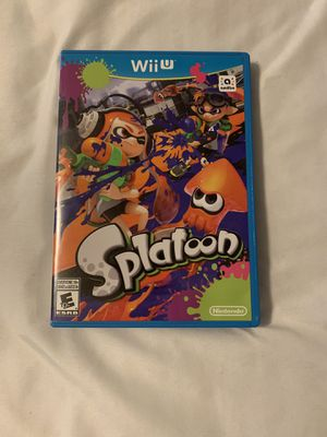 Splatoon Wii U for Sale in Los Angeles, CA