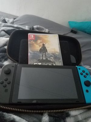 Nintendo Switch ( comes with 2 games) for Sale in Missoula, MT
