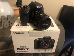 Canon T7i kit with Accessories for Sale in Lanham, MD