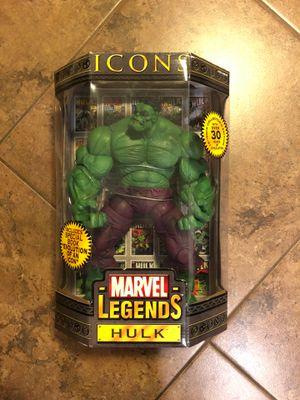 "Toy Biz Marvel Legends Icons Hulk - 12"" for Sale in Phoenix, AZ"