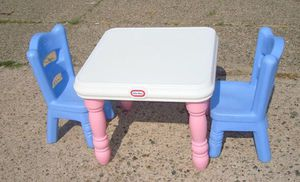 Kids Table with 2 chairs for Sale in Philadelphia, PA