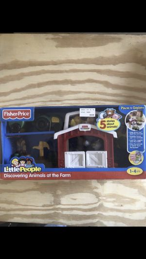 Toy Little people discover animals at the farm Brand new for Sale in Pasadena, TX