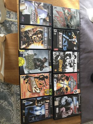 PlayStation 2 game bundle ps2 for Sale in Somerville, MA