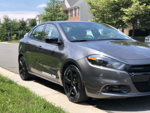 2015 Dodge Dart SXT 2.4L (Fully loaded and a steal due to repairs on back)