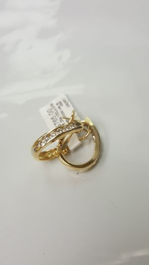 14kt Gold and Diamonds Earrings for Sale in San Diego, CA