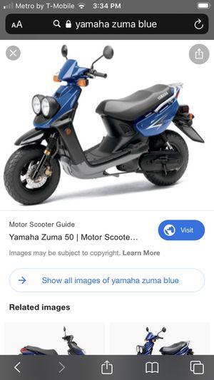 Yamaha zuma 50 cc 2 stroke for Sale in Washington, DC