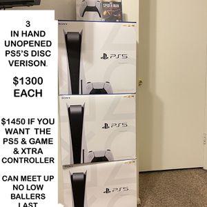 PS5 Disc Version for Sale in Phoenix, AZ