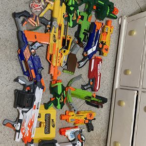 Huge Nerf Gun Lot for Sale in Fountain Valley, CA