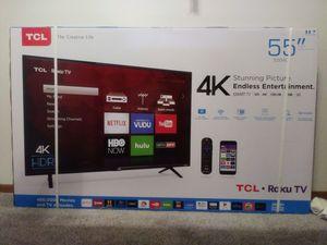 55 inch TCL Roku Smart Tv for Sale in Reynoldsburg, OH