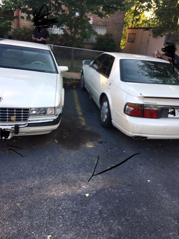 2 Cadillacs for the price of 1..