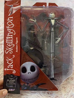 Jack skellington nightmare before Christmas figure for Sale in Frisco, TX