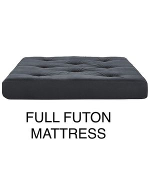 *BRAND NEW* BLACK FULL FUTON MATTRESS. IN ORIGINAL PACKAGING. OLENTANGY RIVER RD AND BETHEL RD PU for Sale in Upper Arlington, OH