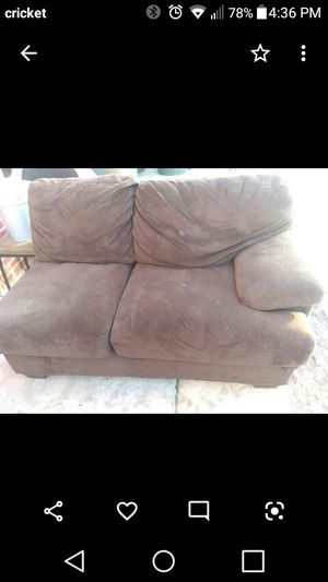 Full sectional set $100 condition used and one leather sofa 30$ take all for 120$ or make me offer for Sale in Phoenix, AZ