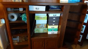 Wood entertainment center for Sale in Waverly, TN