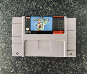 Super Mario World (Nintendo SNES, 1992) for Sale in Las Vegas, NV