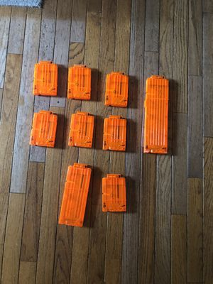 Nerf gun clips for Sale in Rockville, MD