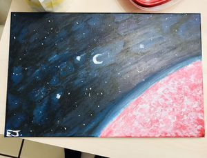 Galaxy theme painting for Sale in Tampa, FL