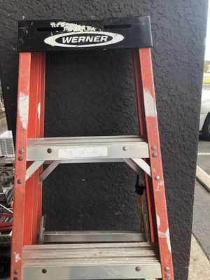 Werner 6 ft step ladder for Sale in Tampa, FL