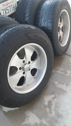 MHT 5x5 lug Chevy, jeep rims for Sale in Patterson, CA