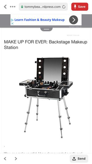 Limited Edition Makeup Forever Backstage makeup station for Sale in Huntington Beach, CA
