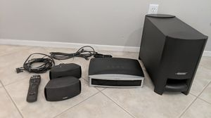 BOSE Model AV3-2-1ll Home Entertainment Media Center DVD/CD surround sound theater speaker system for Sale in Peoria, AZ