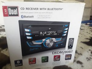 CD receiver with bluetooth for Sale in Binghamton, NY