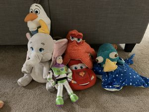 Disney plushies for Sale in Annandale, VA