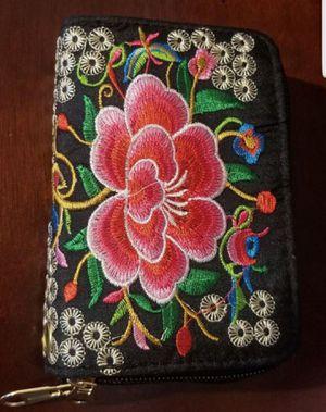 Embroidery wallet/billetera bordada for Sale in Glendale, AZ