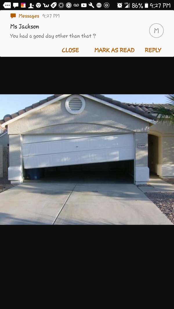 Holiday specials on any size springs ,doors or openers