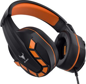 PS4 Headset with Flexible Microphone Volume Control, 3.5mm Stereo Gaming Headphones with Soft Earmuffs, Gaming Headset with Mic Xbox One for Sale in Compton, CA