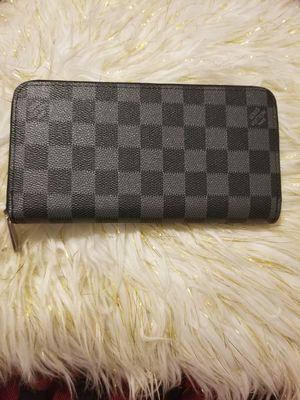 Black checkerboard wallet (no string) for Sale in Norcross, GA