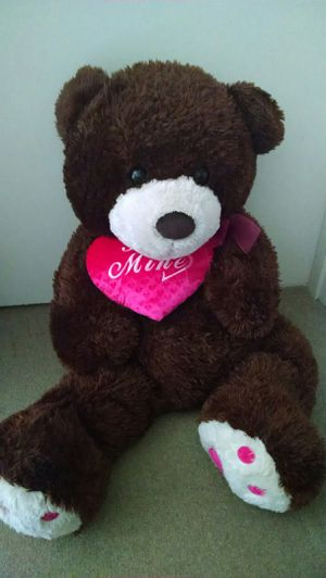 40 in teddy bear for Valentine's day for Sale in Burien, WA