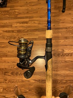 Spinning rod combo for Sale in College Park, MD