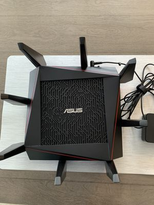 Asus RT-AC5300 tri band gaming router for Sale in Brick Township, NJ