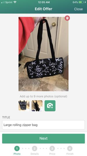 Black and white tote bag for Sale in Grove City, OH