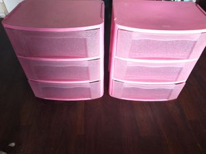 Pink Sterilite Storage Containers for Sale in Ontario, CA