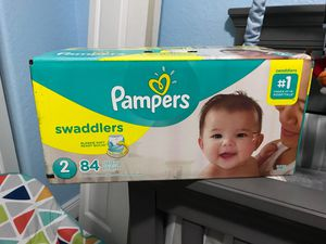 Pampers Swaddlers Size 2 for Sale in Hialeah Gardens, FL