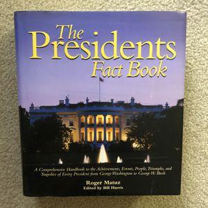 The Presidents Fact Book for Sale in Reston, VA