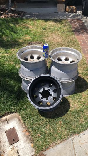 5 15x10 Procomp Rims (painted black) for Sale in San Diego, CA
